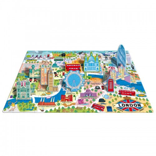 London Puzzle and Book Set