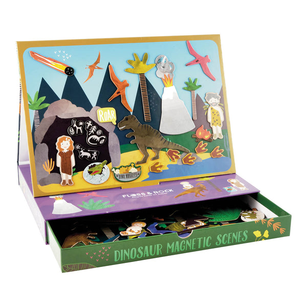 Magnetic Play Scene Dinosaur