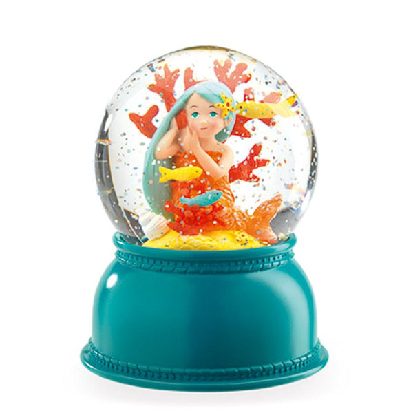 Globe Night Light Mermaid