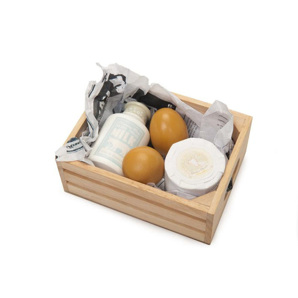 Honeybake Eggs & Dairy in Crate