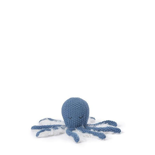 Ollie Octopus Rattle Blue