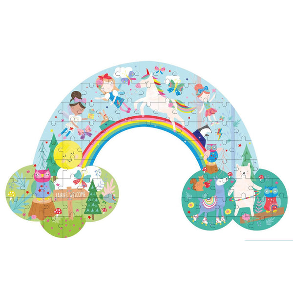 Shaped Puzzle Rainbow Fairy