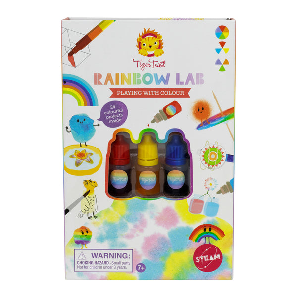 Tiger Tribe Rainbow Lab- Playing with Colour