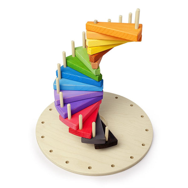 Wooden 3D Spiral Puzzle Extra Large