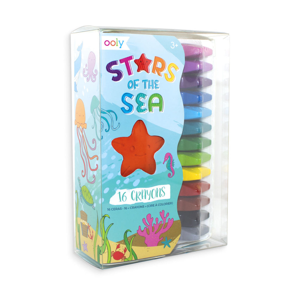 Ooly Crayons- Stars of the Sea