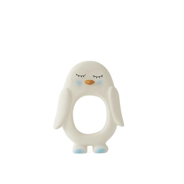 Penguin Teether White