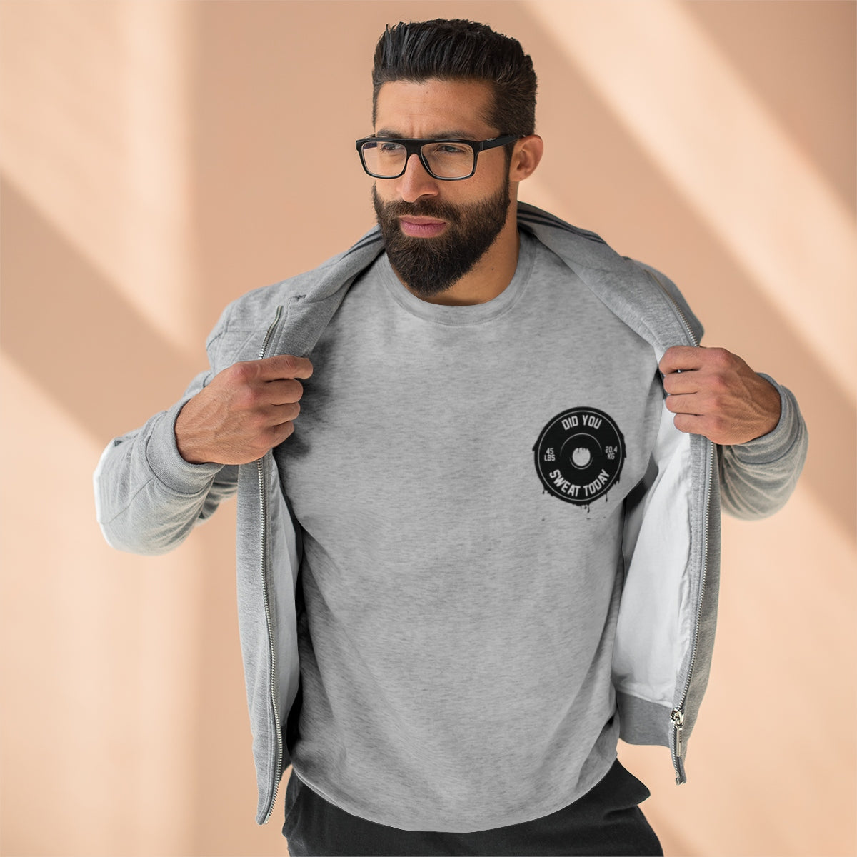 Did You Sweat Today - Unisex Premium Crewneck Sweatshirt