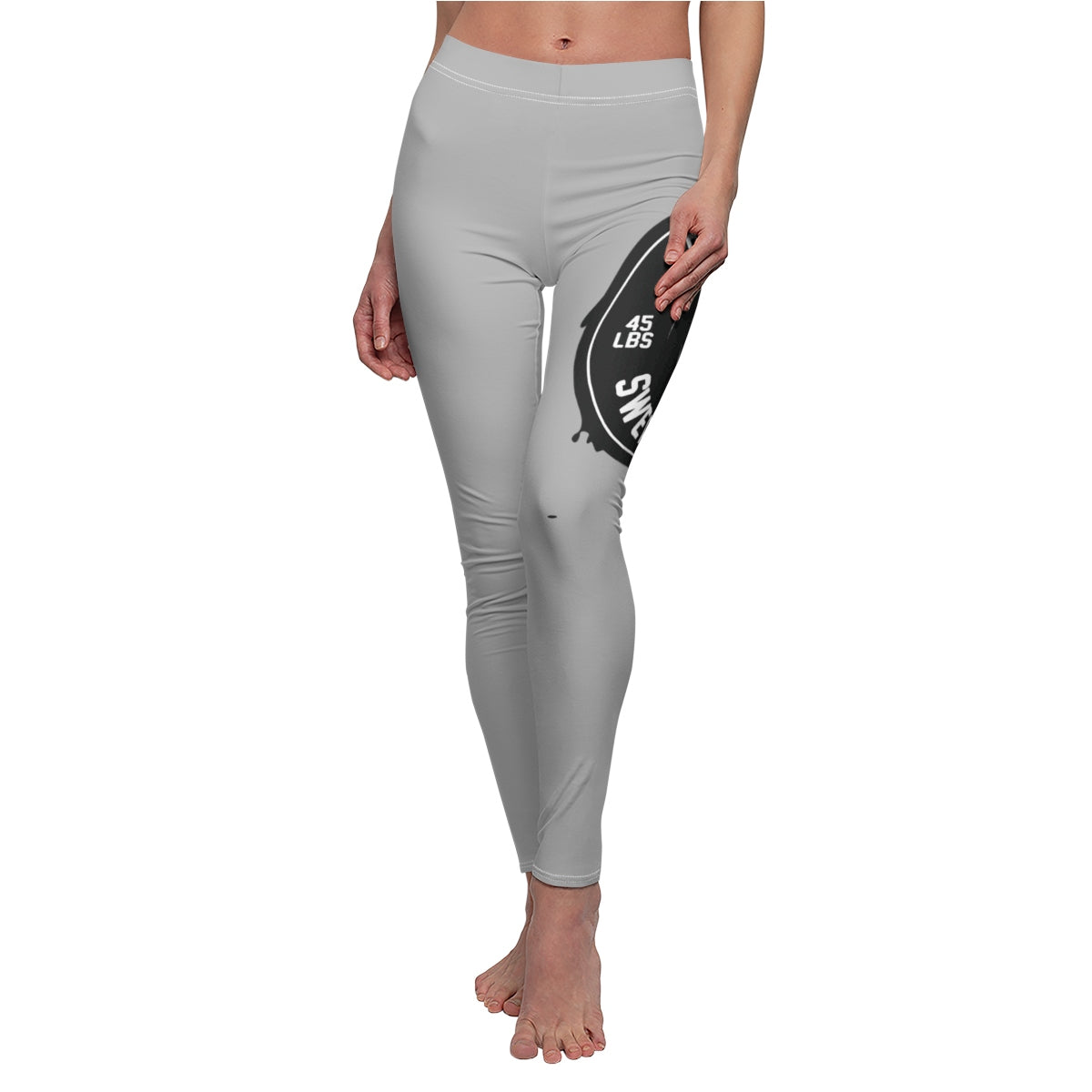 Did You Sweat Today - Women's Cut & Sew Casual Leggings