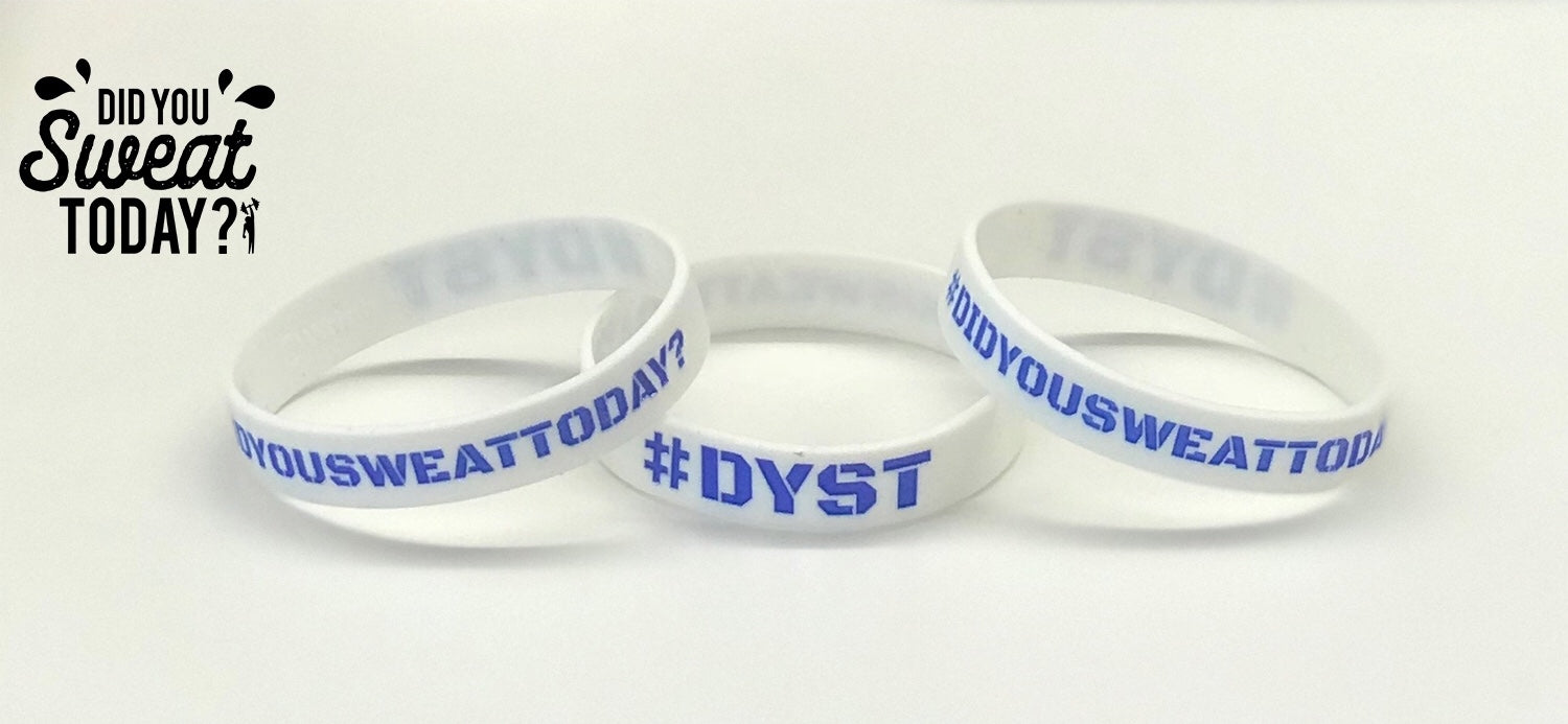 Did You Sweat Today - Wrist Band