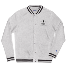 Load image into Gallery viewer, WCS Donation Embroidered Bomber Jacket