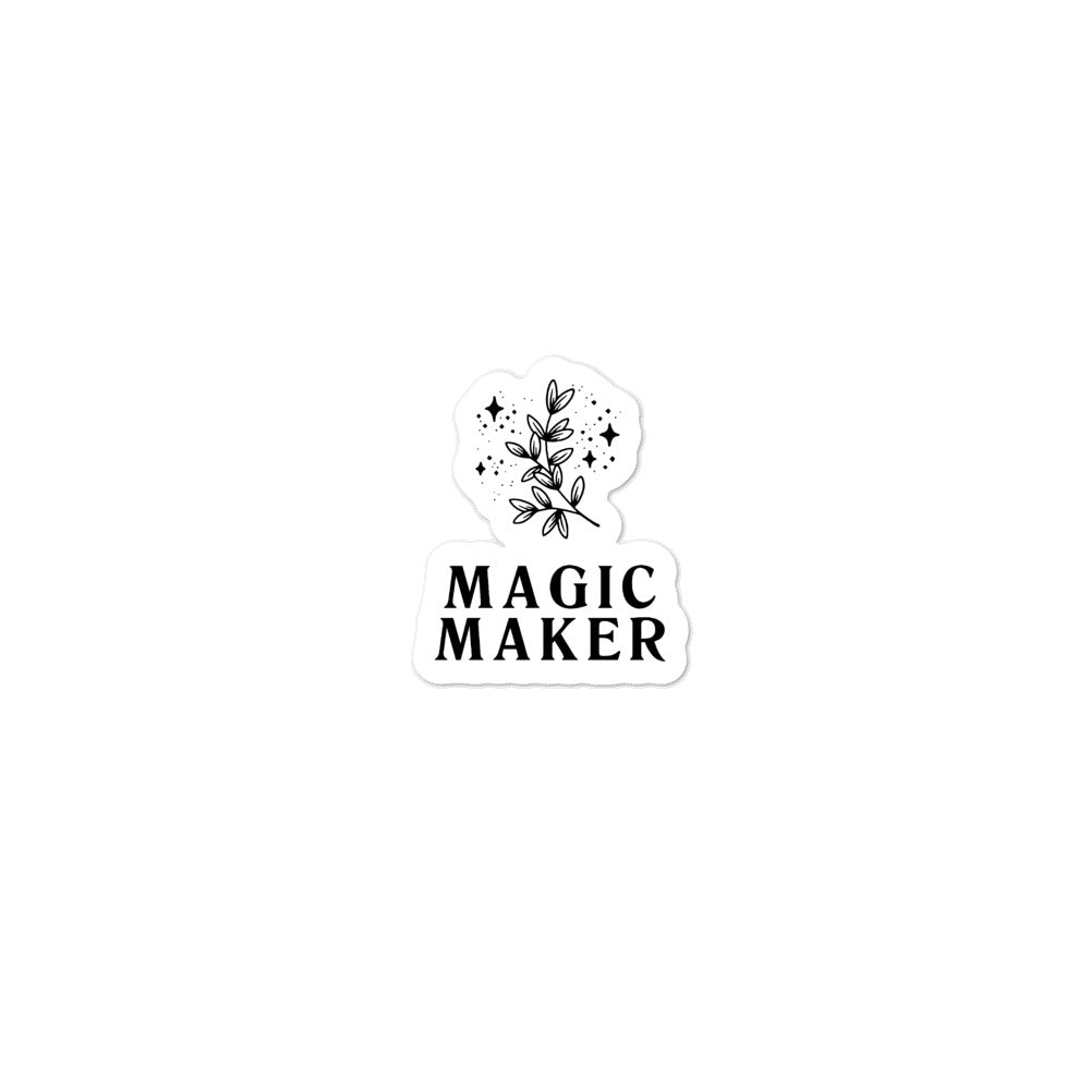 Magic Maker Sticker