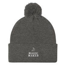 Load image into Gallery viewer, Magic Maker Pom-Pom Beanie