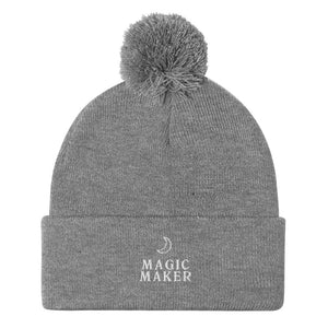Magic Maker Pom-Pom Beanie
