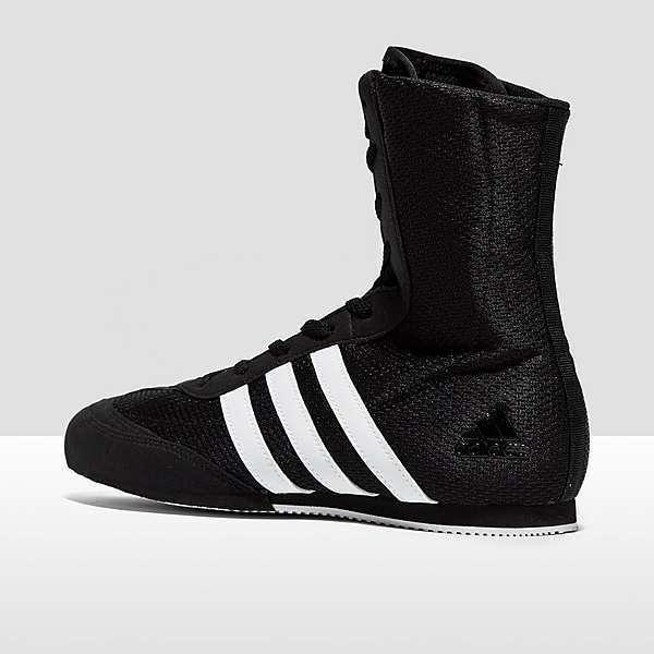 quality design aaa7b 93a77 Adidas Boxing Boots Box Hog 2 Shoes Trainers Black White Adult - BA7928