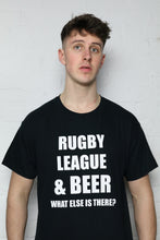 Load image into Gallery viewer, RL & Beer Black T-Shirt