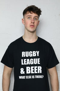RL & Beer Black T-Shirt