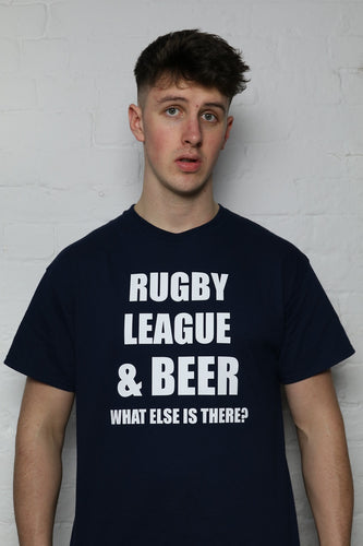 RL & Beer Navy T-Shirt