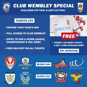 Challenge Cup Final Club Wembley 2019