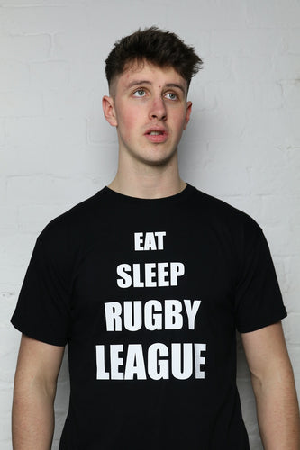 Eat, Sleep, RL Black T-Shirt