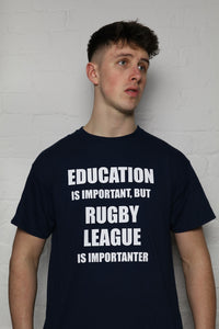 RL Is Importanter Navy T-Shirt