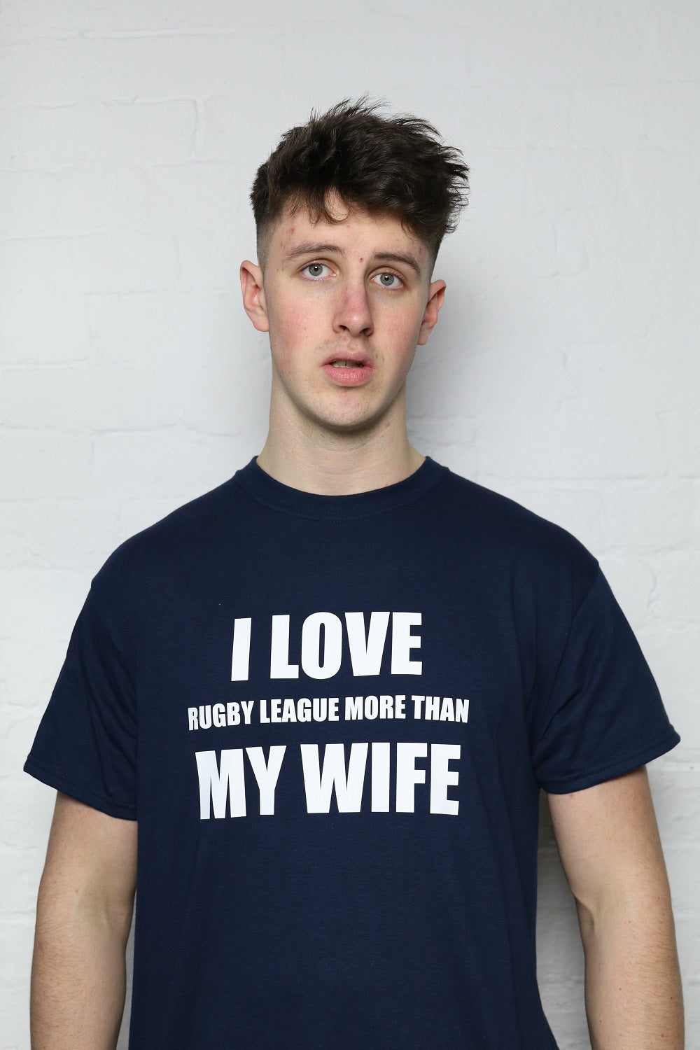 I Love RL Navy T-Shirt