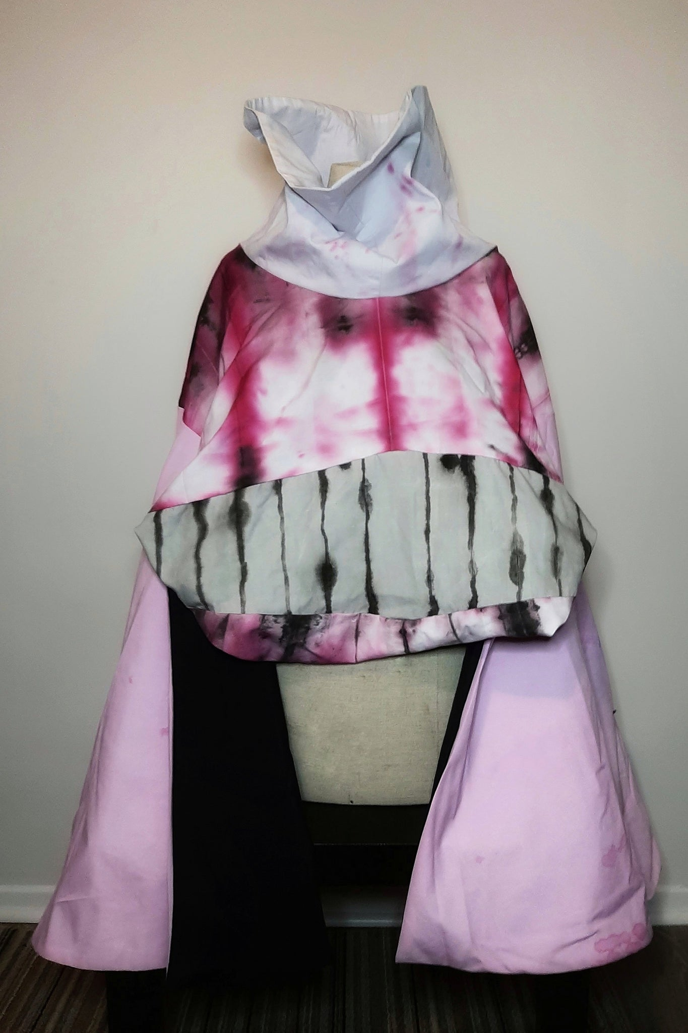 Pink ink cape