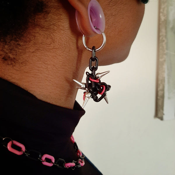Punk'd earrings