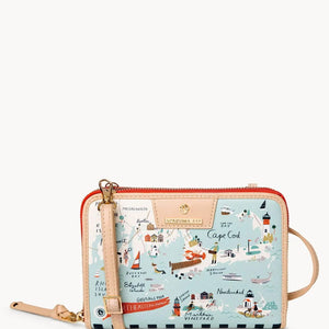 Northeastern Harbors All-In-One Phone Cross Body