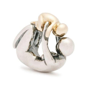 Trollbeads-Maternity Bead with Gold