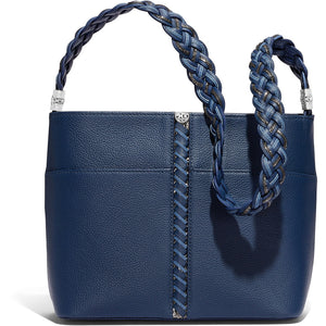 Beaumont Square Bucket Bag-French Blue