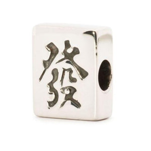 "Trollbeads-Mahjong ""Fortune"" Bead-Retired"