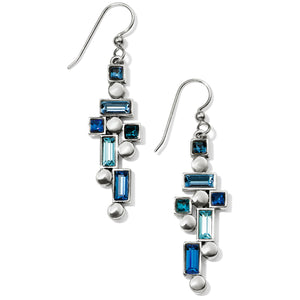 Blue Showers French Wire Earrings