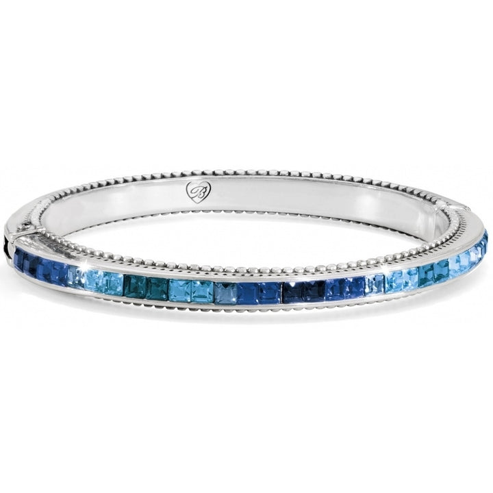 Spectrum Hinged Bangle-Blue