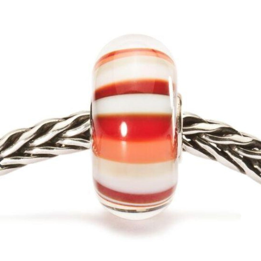 Trollbeads-Strawberry Stripes Bead