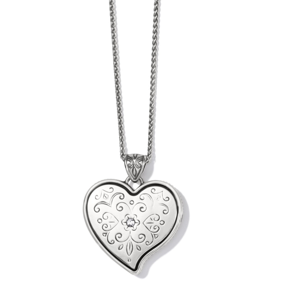Ornate Heart Convertible Necklace