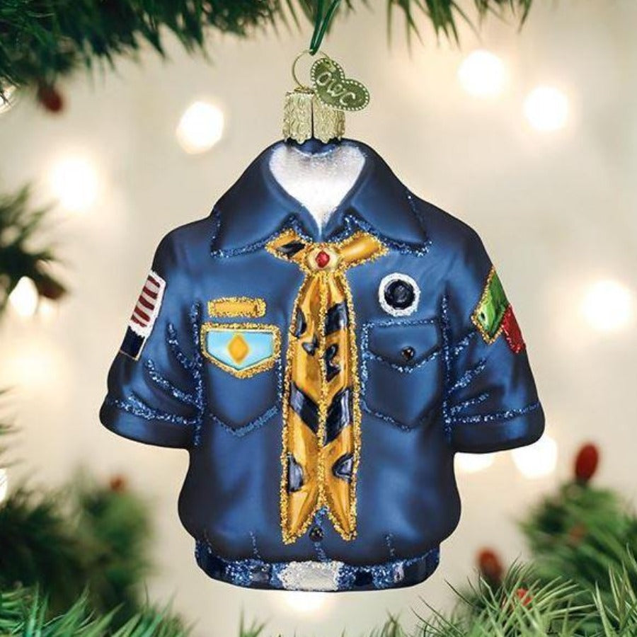 Scout Uniform - Old World Christmas
