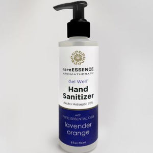 Hand Sanitizer Gel Pump - Lavender Orange - 8 oz