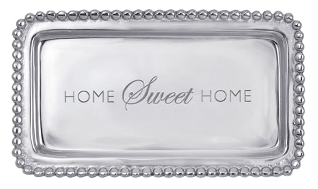 Beaded Tray - Home Sweet Home