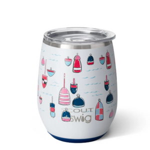 Stemless Wine Cup - SCOUT+Swig - Buoy Oh Buoy