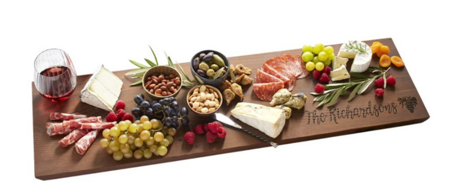 "Cutting Board - 30"" Charcuterie plank"