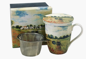 Monet Poppies - Gift-Boxed Mug