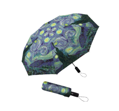 RainCaper - Van Gogh Starry Night Folding Travel Umbrella