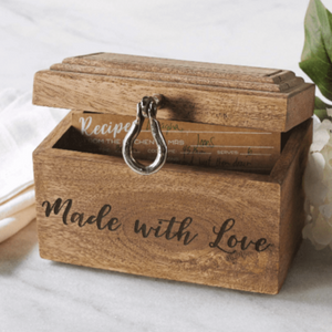 """Made with Love"" Recipe Box"