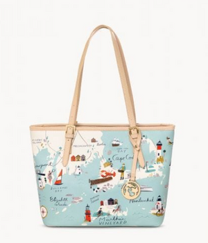 Spartina - Northeastern Harbors Small Tote