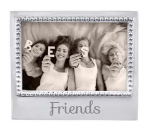 "Beaded Frame - 4 x 6 - ""Friends"""
