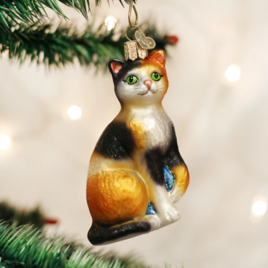 Calico Cat- Old World Christmas
