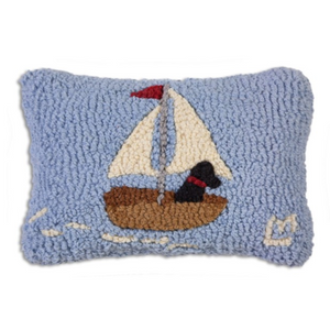 Hooked Pillow - Skiff Lab