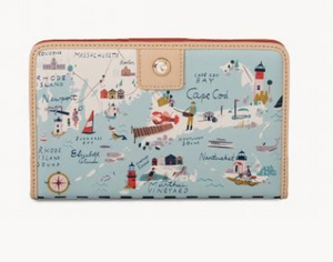 Spartina - Northeastern Harbors Snap Wallet