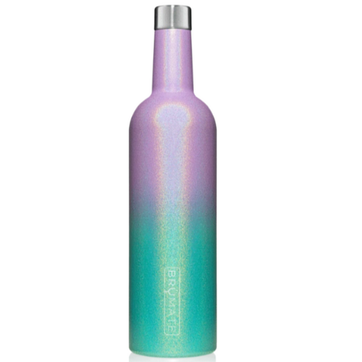 Winesulator Wine Canteen - Glitter Mermaid
