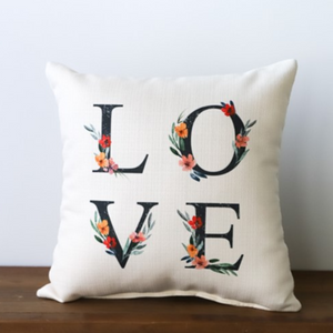 Pillow - Floral Love